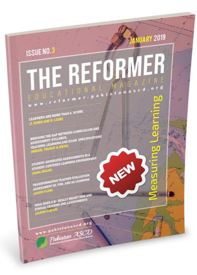 The Reformer Issue 3: Measuring Learning