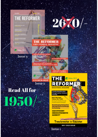 THE REFORMER Super Value Pack - Buy all 3 Issues